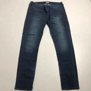 Hudson Collin Flap Skinny Jeans Mens Size 32
